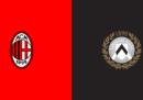 Milan-Udinese in diretta TV e in streaming