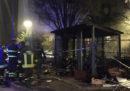 Due persone sono state fermate nell'ambito delle indagini sul cadavere carbonizzato e mutilato trovato sabato a Milano