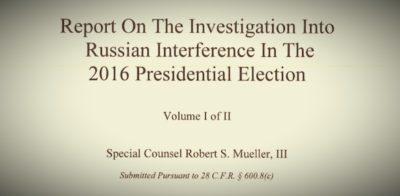 """Cosa c'è nel """"rapporto Mueller"""""""
