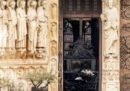 Le foto di martedì di Notre-Dame