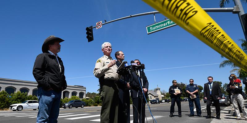 Usa, sparatoria vicino a una sinagoga a San Diego