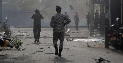 Il governo dello Sri Lanka ha accusato un gruppo terrorista locale per gli attentati di domenica