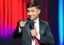 Il comico Volodymyr Zelensky è in vantaggio al primo turno delle presidenziali in Ucraina