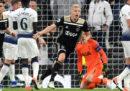 L'Ajax ha battuto 1-0 il Tottenham nell'andata delle semifinali di Champions League