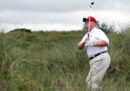 Trump bara a golf?