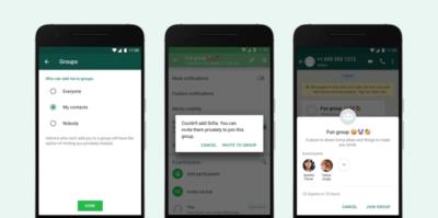 Ora WhatsApp permette di non farsi aggiungere ai gruppi da chiunque