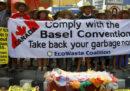 Il Canada ha accettato di riprendersi la spazzatura inviata per errore nelle Filippine