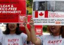 Il Canada pagherà 172mila euro per riprendere dalle Filippine 69 container di spazzatura