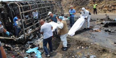 Messico, tir su bus turisti: 21 morti