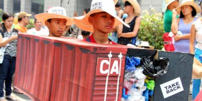 Le Filippine non vogliono la spazzatura del Canada