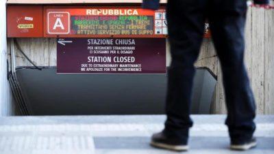 La stazione Repubblica della metropolitana di Roma riaprirà domani
