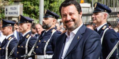 Salvini si è accorto che i reati sono in calo