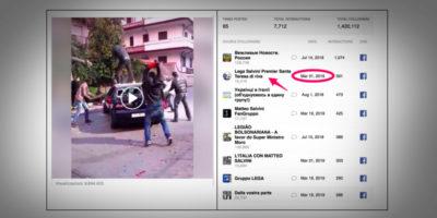 Le 23 pagine di notizie false italiane chiuse da Facebook