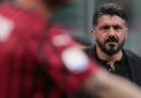 Gennaro Gattuso lascia il Milan