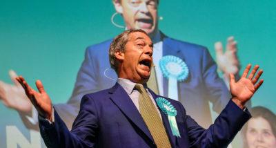 Il ritorno di Nigel Farage