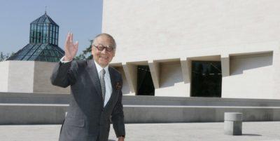 È morto l'architetto I.M. Pei, che progettò la piramide del Louvre