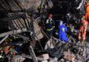Ci sono almeno 10 morti per il crollo di un edificio in ristrutturazione a Shanghai, in Cina