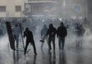 Le foto degli scontri a Roma prima della finale di Coppa Italia