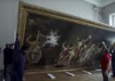 Come si trasporta un enorme e preziosissimo quadro?