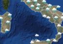 Le previsioni meteo per domani, domenica 26 maggio