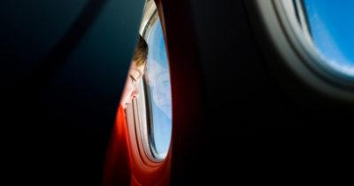 Il rumore dell'aereo, dentro