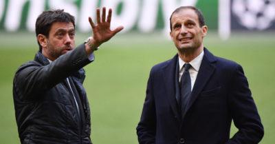Allegri non sarà più l'allenatore della Juventus