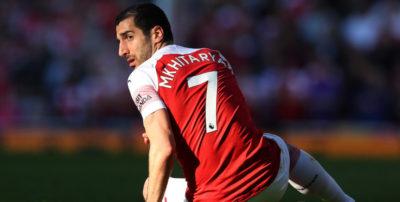 Il calciatore dell'Arsenal Henrikh Mkhitaryan non parteciperà alla finale di Europa League per ragioni di sicurezza