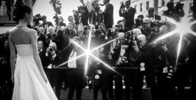 Cannes in bianco e nero