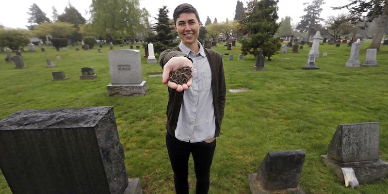 Lo stato di Washington ha legalizzato il compostaggio dei cadaveri