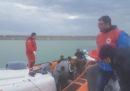 64 migranti soccorsi ieri notte a largo della Calabria sono sbarcati a Crotone