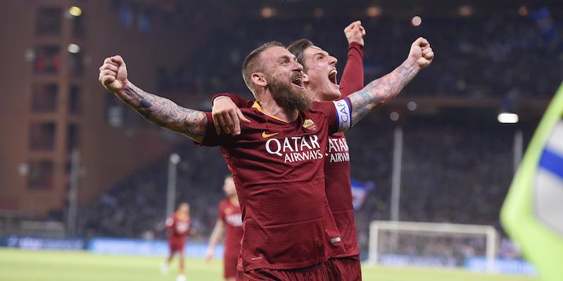 Daniele De Rossi lascerà la Roma a fine stagione