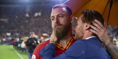 L'ultima partita con la Roma di Daniele De Rossi