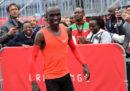 Il corridore keniano Eliud Kipchoge proverà di nuovo a correre una maratona in meno di due ore