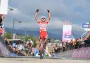 Fausto Masnada ha vinto la sesta tappa del Giro d'Italia, Valerio Conti è la nuova maglia rosa