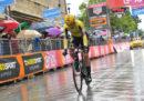 Primoz Roglic ha vinto la cronometro Riccione-San Marino, nona tappa del Giro d'Italia