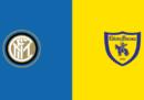 Inter-Chievo in TV e in diretta streaming