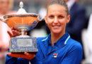 Karolina Pliskova ha vinto il torneo femminile degli Internazionali di tennis di Roma