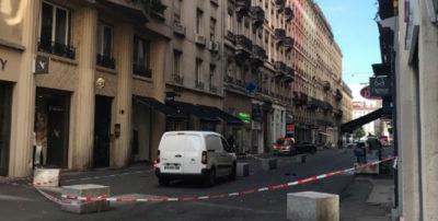 Esplosione nel centro di Lione, almeno otto feriti