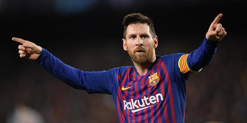 9f1ef67e52 Lionel Messi nella partita di andata al Camp Nou (Matthias Hangst/Getty  Images)