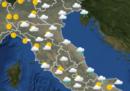 Le previsioni meteo per giovedì 30 maggio