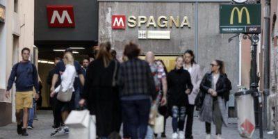 A Roma è stata riaperta la fermata della metropolitana Spagna
