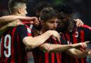 Il Milan ha battuto 2-1 il Bologna nel posticipo di Serie A