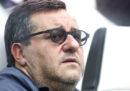 La FIGC ha sospeso per tre mesi il procuratore sportivo Mino Raiola
