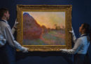 Un quadro di Claude Monet è stato venduto all'asta per più di 110 milioni di dollari, la cifra più alta per un dipinto del pittore francese