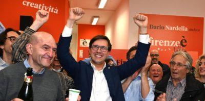 Dario Nardella ha vinto le elezioni comunali di Firenze
