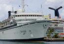 La nave di Scientology che era stata messa in quarantena a Santa Lucia per un caso di morbillo ha lasciato l'isola