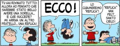 Come si chiama il fratello di Linus e Lucy