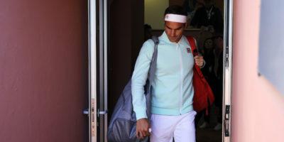 Roger Federer si è ritirato dagli Internazionali d'Italia