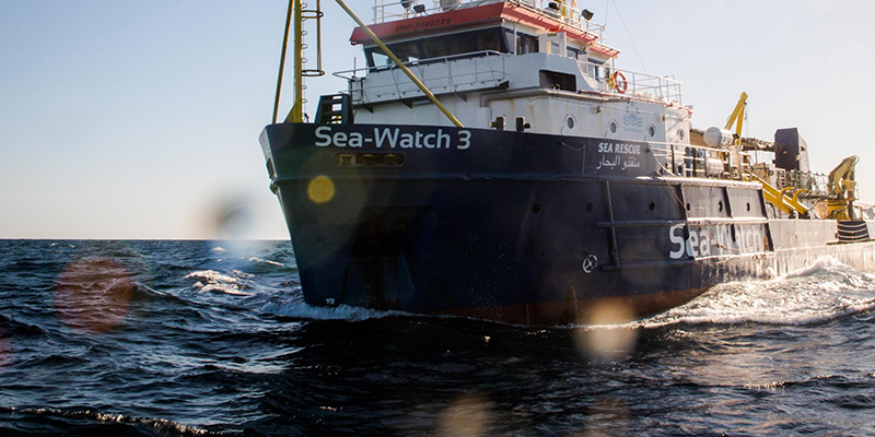 Sea Watch verso l'Italia, Salvini: