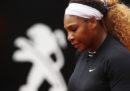 Serena Williams si è ritirata dagli Internazionali di Roma
